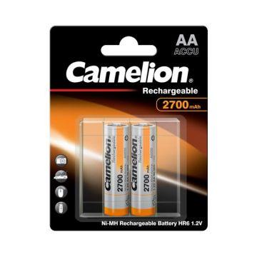PILHA CAMELION R06 1. 2V AA 2700 RECARR. (BL2) CX=12 / 0709.04