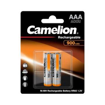 PILHA CAMELION R03 1. 2V AAA 900 RECARR. (BL2) / 0709.69