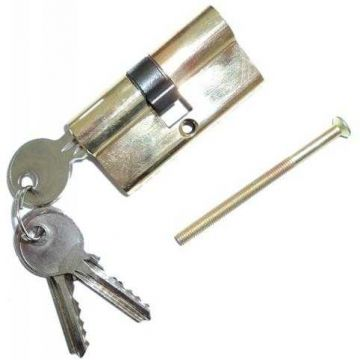 CILINDRO CHAVE NORMAL 60MM DOURADO CY60 - 0011.83