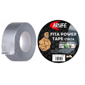 FITA POWER TAPE 50MM X 10MTS CINZA / 0229.85
