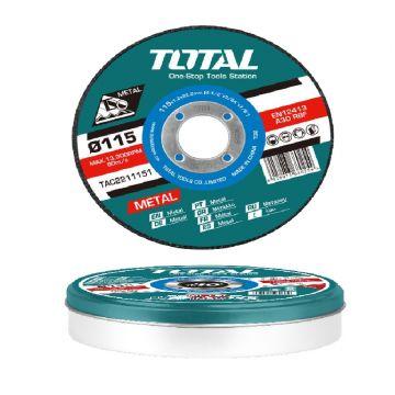 DISCO C/ METAL 115x1. 2MM CONJ. 10PÇS / 0731.119